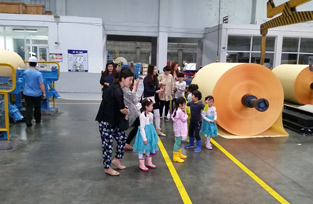 2016 Visit to factory by weekend school students