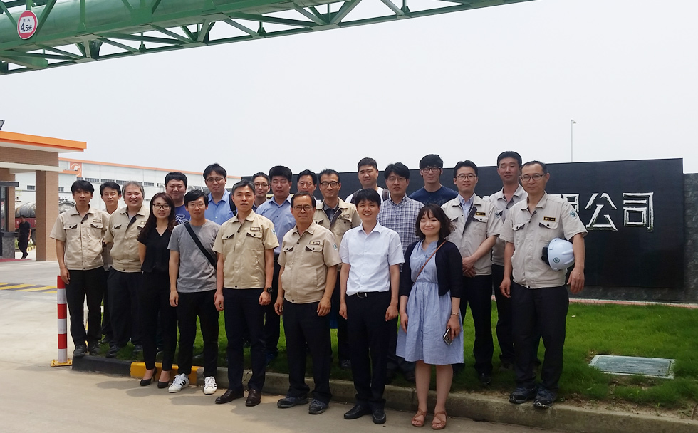 2016 Visit by executive staffs of Hankuk Paper